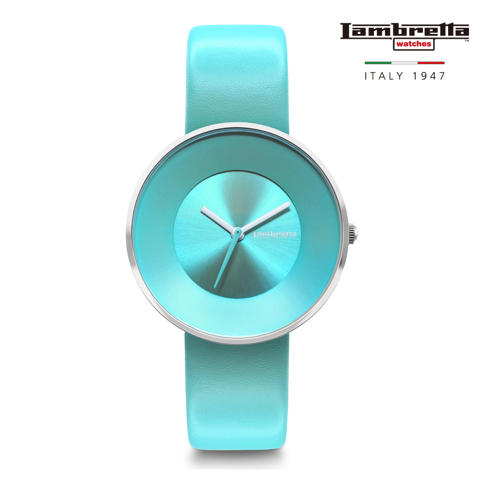 [Lambretta Watches] 람브레타 Cielo 34 Solid Turquoise 여성시계